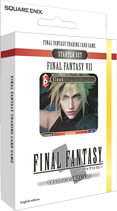 NEW 2019 Final Fantasy Trading Card Game TCG Starter Set VII