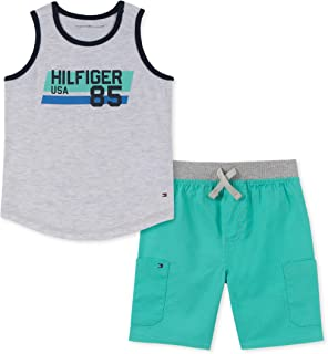 Baby Boys' 2 Pieces Tank Top Shorts Set