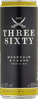 Three Sixty Vodka  Maracuja Ready To Drink, Einweg 1 X 0.33 L