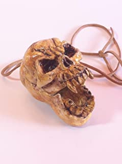Aztec Death Whistle - Skull, loud screaming mayan aztec death whistle