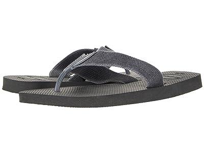 Havaianas Urban Basic Flip Flops (Black/Grey) Men