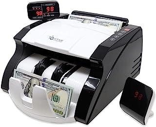 GStar Money Counter with UV/MG/IR Counterfeit Bill Detection Plus External Display USA..