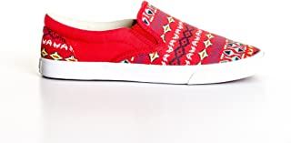 Bucketfeet Women's Pineappleade Slip On Sneakers