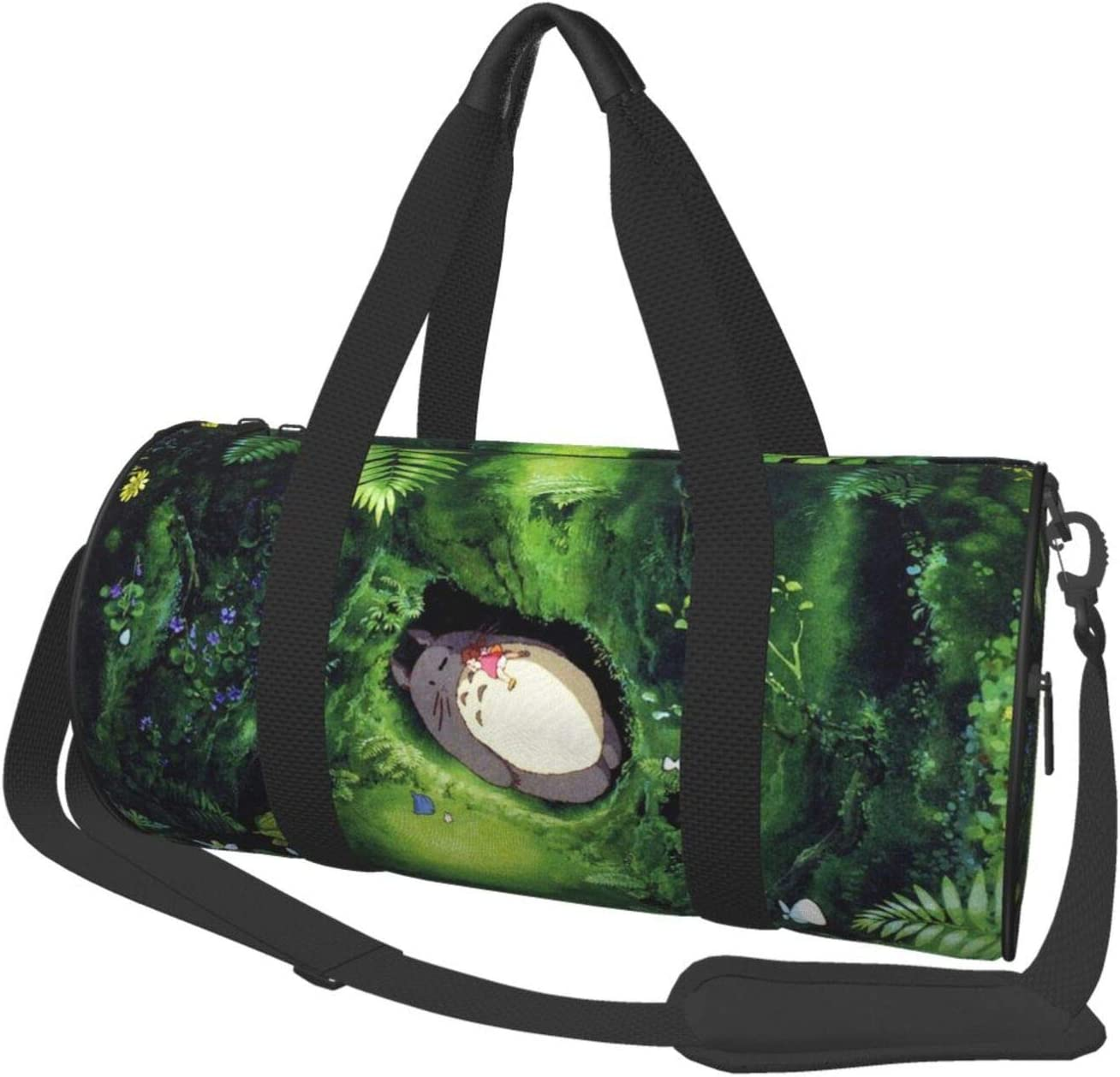 My Neighbor Totoro Selling rankings Duffel Bag Mail order Canvas Sports A For Gym Travel