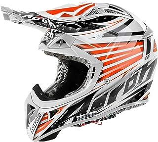 Airoh Aviator 2.1 Valor Motocross Helm XS 53/54 Orange/Schwarz