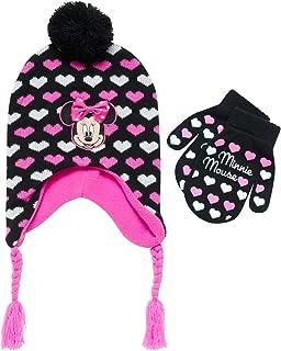 ست کلاه و دستکش یا دستکش زمستانی مینی موس دختران دیزنی (کودک نوپا / دختران کوچک)