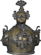 Shiva Linga Sheath - Tribal Statue - Brass Statue