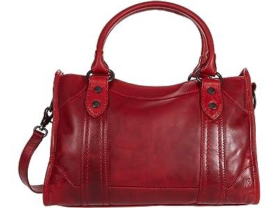 Frye Melissa Satchel (Red) Satchel Handbags