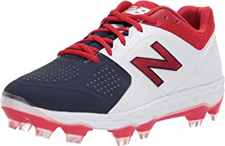 red white and blue cleats baseball