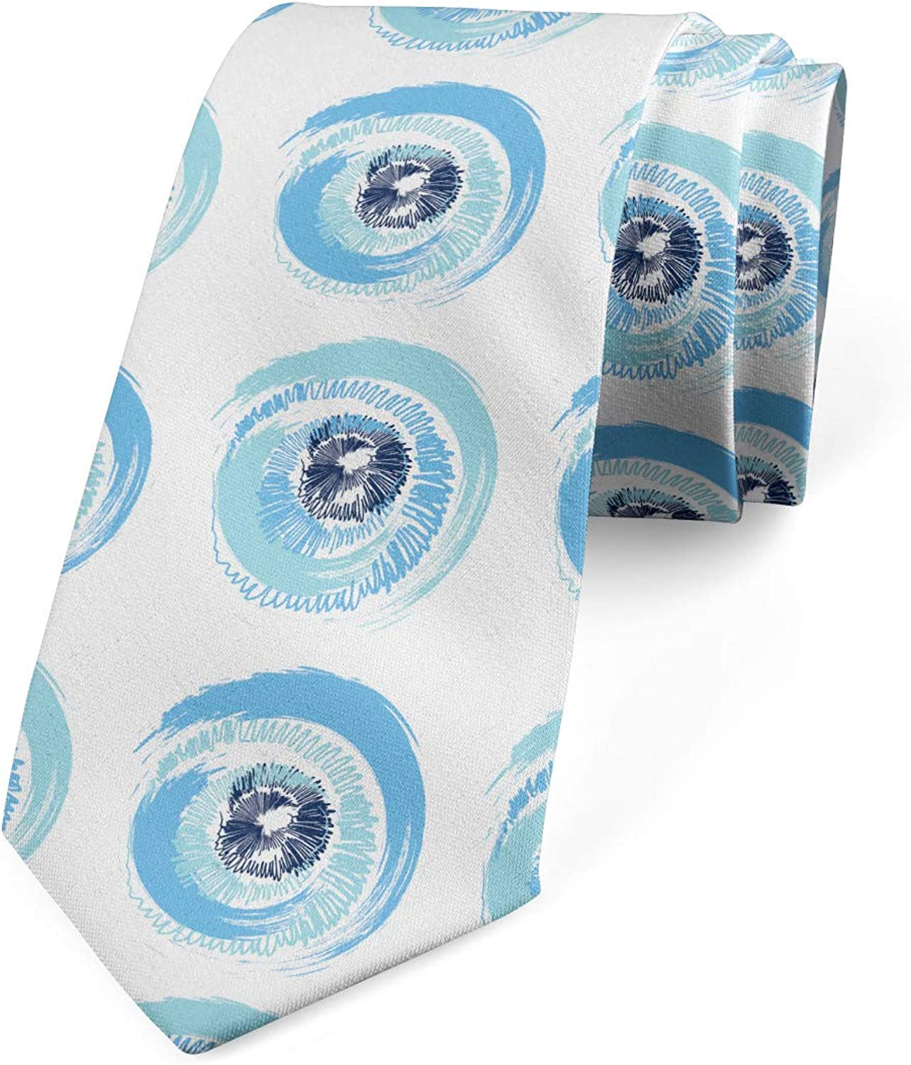 Tampa Mall Save money Ambesonne Multicolor Modern Tie Men's