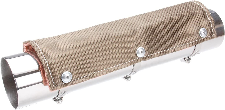 Design Engineering 010450 Titanium Pipe Exhaust - Sh Shield Ranking TOP19 Heat safety