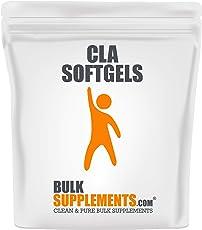 BulkSupplements.com Conjugated Linoleic Acid (CLA) 1000 mg - Weight Loss Pills - Stomach Fat Burner (300 Softgels - 150 Servings)