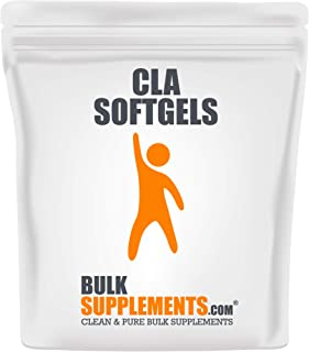 BulkSupplements.com Conjugated Linoleic Acid (CLA) 1000 mg - Weight Management Pills - Stomach Fat Burner (300 Softgels - 150 Servings)