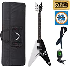Dean Michael Schenker Standard Guitar, MS STD, LW Case Bundle
