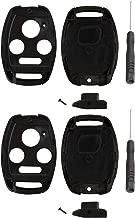2 Key Fob Case Shell for Honda Accord Civic Pilot & More (Swap Your Original Blade)