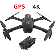 DRONE-CLONE XPERTS Drone X Pro Limitless 4K GPS 5G WiFi Dual Camera Brushless Motor Quadcopter...