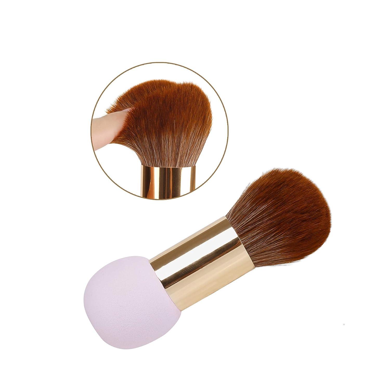 QiBusLeen 2 in 1 Mesa Mall Ranking TOP12 Portable Foundation Makeup Brush Sponge