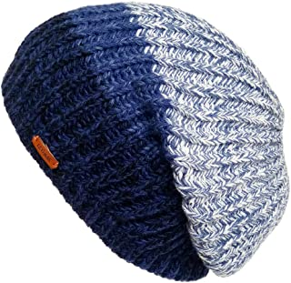 Unique Winter Skull Beanie Mix Knit Slouchy Hat Ski Cap for Men & Women