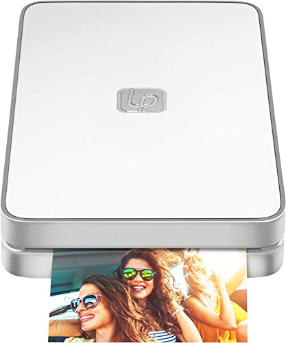 wholesale Lifeprint 2x3 Portable Photo and Video online Printer outlet online sale for iPhone and Android. Make Your Photos Come to Life w/Augmented Reality - White outlet online sale