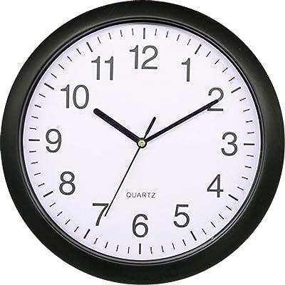 Platinet Rainbow Wall Clock Black, 27.3 cm
