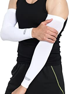 BODYCHI Cooling Compression Seamless Arm Sleeve Support with UV Protection, One Size Fits Most