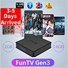 (3-5 Days Arrived) 2020 FUNTV Chinese WiFi 5G Bluetooth...