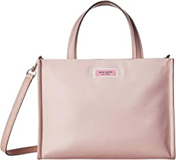 Sam Nylon Medium Satchel