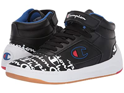 Champion Super C Court Leather Print (Black) Men