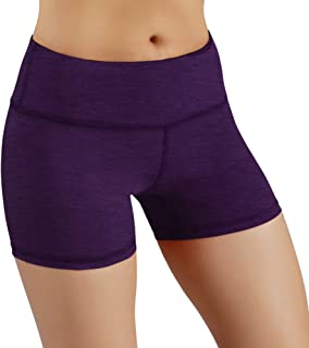 Power Flex Yoga Short Tummy Control Workout Running Athletic Non See-Through Yoga Shorts with Hidden Pocket
