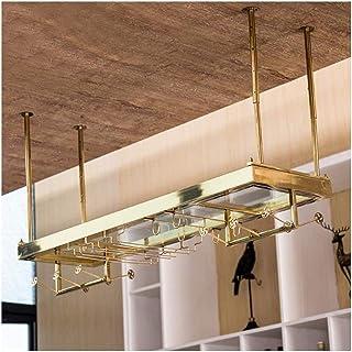 HZWLF Casier à vin créatif, Porte-Verre Suspendu, Porte-gobelet Suspendu, Porte-Verre à vin, casier à vin Domestique de St...