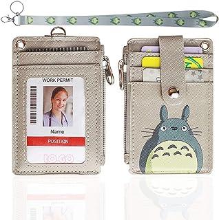 ID Passport Holder Card ID Holder Card Case Necklace Nameplate Ski R4C6