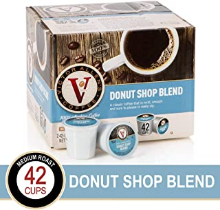 Donut Shop Blend for K-Cup® Keurig 2.0® Brewers, 42 Count, Victor Allen's Coffee® Medium Roast Single Serve Coffee Pods
