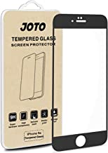 JOTO Screen Protector Compatible for iPhone 6S 6, Full Screen Tempered Glass Screen Protector Film, Edge to Edge Screen Film Guard Saver for Apple iPhone 6S / 6 4.7-Inch (1 Pack, Clear/Black)