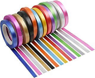 HiDear 26 Rolls Curling Ribbon Set Crimped Balloon String Gift Wrapping Ribbon Bow Ribbon for Party Wedding Festival Crafts