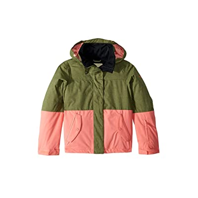 Roxy Kids Roxy Jetty Block Jacket (Big Kids) (Four Leaf Clover) Girl