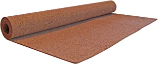 Flipside FLP38001 Cork Roll, 4` x 8`, 3mm Thick, Natural Cork, Light Brown