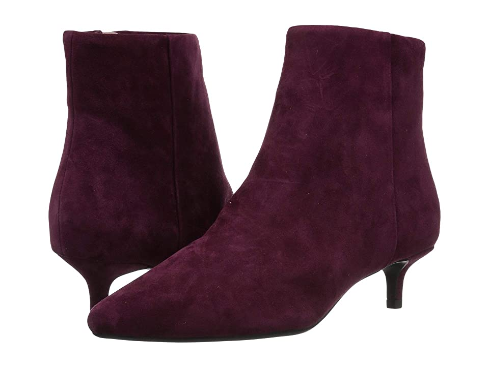 Taryn Rose Nora (Fig Suede) Women