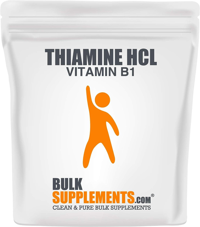 BulkSupplements.com Thiamine HCl Vitamin B1 - All items free shipping Bombing free shipping Powder