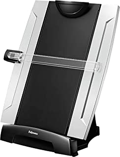 "Fellowes Office Suites Desktop Copyholder with Memo Board, Black/Silver (8033201), 15"" x 10.3"" x 6"""