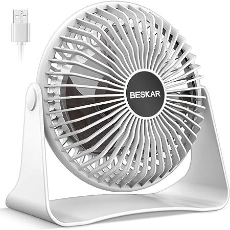 Mini Ventilador Silencioso con Control Remoto Modo 3D 360 /° Swing 4 Speed 8h Temprizador Ventilador de Circulaci/ón de Aire para Oficinas y Dormitorios 35m/² Ventilador de Circulaci/ón de Aire
