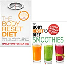Body reset diet and smoothies 2 books collection set