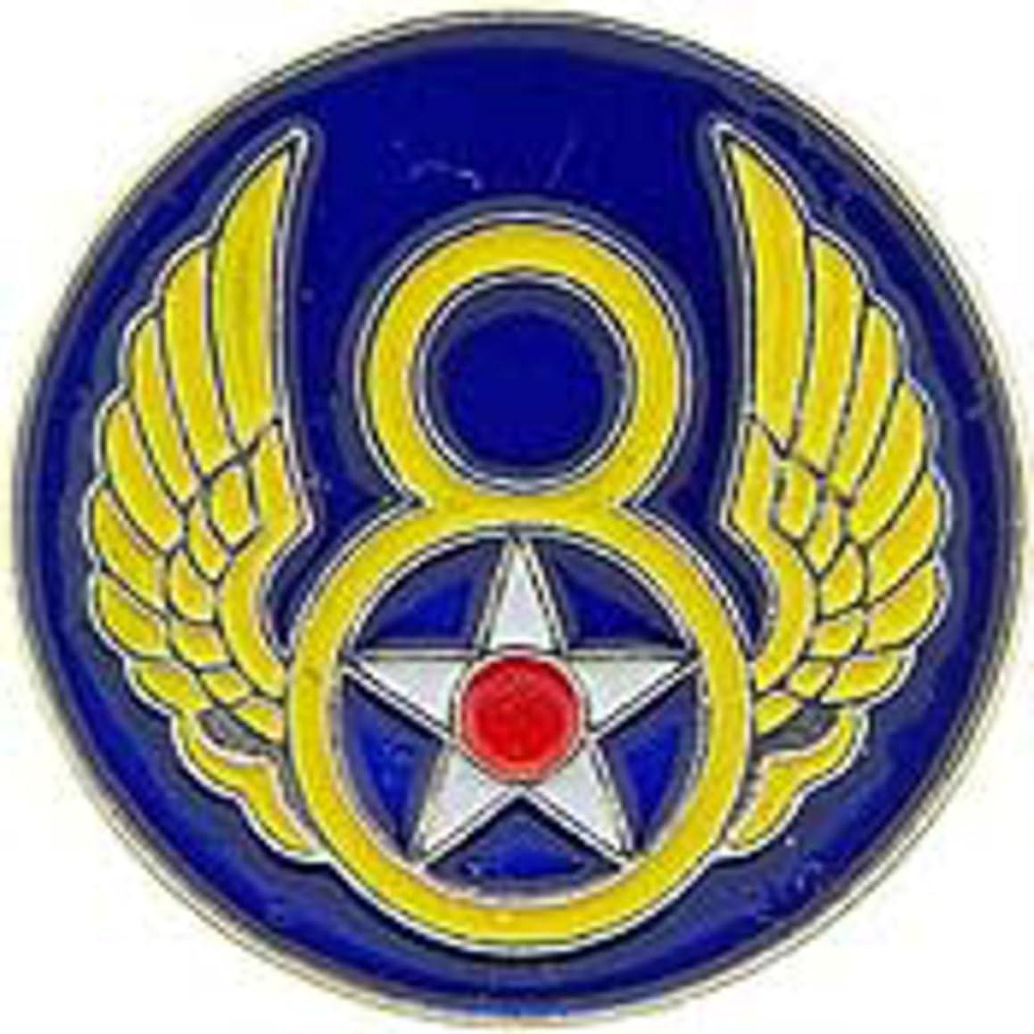 EagleEmblems P14693 Pin-USAF,008TH (Mini) (3/4'')
