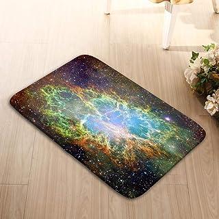Amanda Walter Alfombrilla de Goma 23.6X15.7 Elementos de la Nebulosa del Cangrejo Imagen amueblada NASA Nebulosa del Cangr...