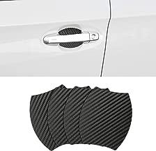 Door Handle Trim Magnetic Door Cup Paint Scratch Protector Cover Accessories for Subaru Crosstrek (4 Pcs)