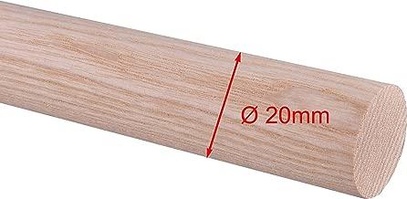 /Ø 30mm Rundstab Rundholz Sapeli Mahagoni Treppensprosse Durchmesser 15mm 30mm 25mm 20mm