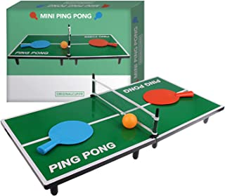 Amazon.es: mini mesa ping pong: Juguetes y juegos