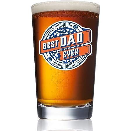 Worlds Best Dad Novelty Pint Tulip Cider Beer Glass