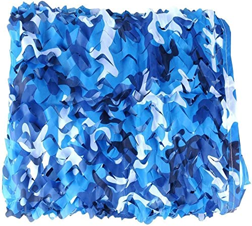 Carl Artbay Bache de Tente Filet de Camouflage Marin, matériel d'Oxford tissé de Filet de Corde Double pour la décoration de Yacht de Pare-Soleil de Piscine extérieure Filet de Camouflage Camouflage