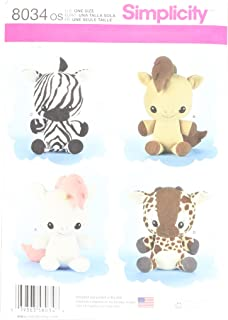 Best zebra stuffed animal sewing pattern Reviews