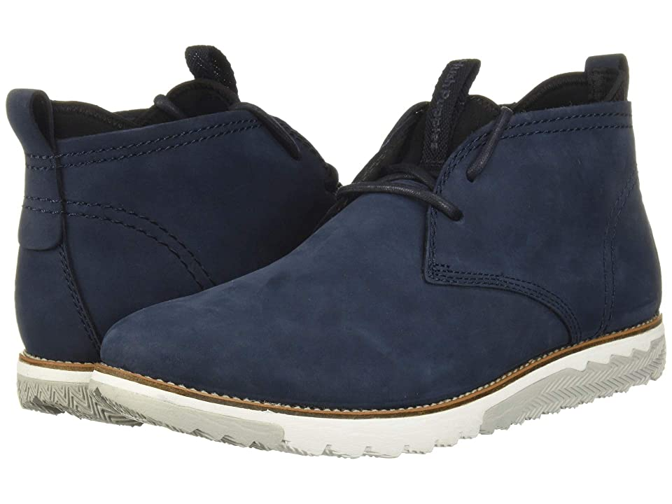Hush Puppies Active Expert (Navy Nubuck) Men